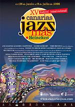 Cartel Canarias Jazz & Más Heineken 2006
